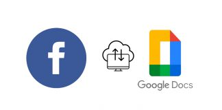 Facebook introduces transfer your information tool how to backup post to Google docs blogger WordPress