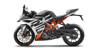KTM RC 390 removed from India website next-gen launch soon