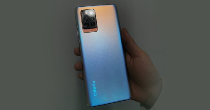 Infinix note 10 Pro real Image leaked