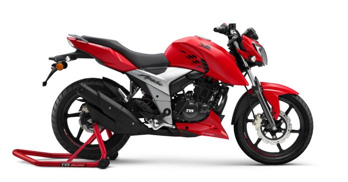 TVs Apache rtr 160 4v gets price hiked in India
