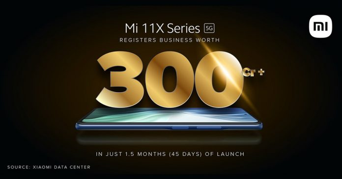xiaomi-solds-mi-11x-and-mi-11x-pro-smartphones-worth-rs-300-crore-within-45-days-in-india